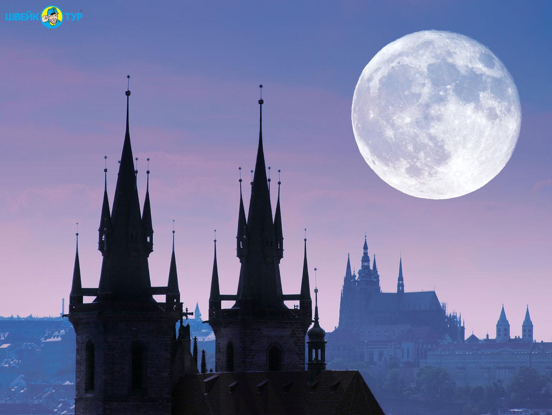 ПРАГА: мистическая ночная экскурсия с привидениями
