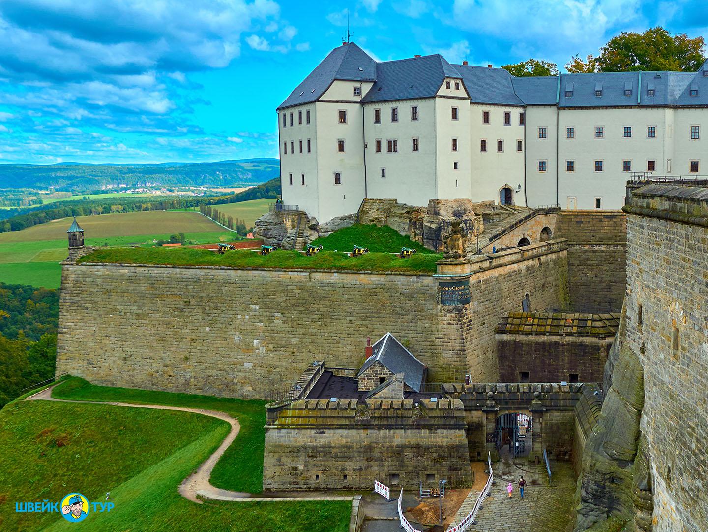«Саксонская Швейцария» + Кёнигштайн (Германия) Швейк Тур