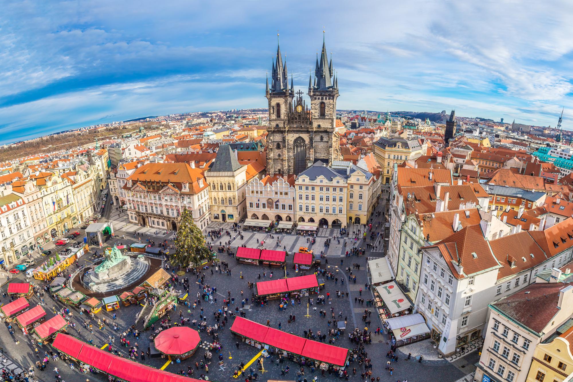 5 причин прилететь в Прагу на Рождество Швейк-тур